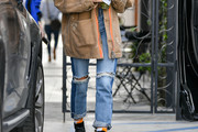 Hailey Baldwin Jeans