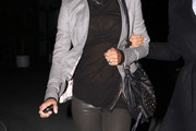 Halle Berry Studded Shoulder Bag