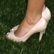 Hayden Panettiere Peep Toe Pumps