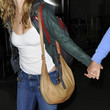 Heather Graham Leather Hobo Bag