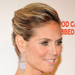 Heidi Klum Hair - French Twist
