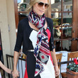 Heidi Klum Accessories - Patterned Scarf
