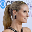 Heidi Klum Hair - Ponytail
