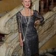 Helen Mirren Faux Pearls