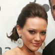 Hilary Duff Hair - Chignon