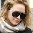 Hilary Duff Sunglasses - Designer Shield Sunglasses