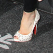 Hilary Duff Peep Toe Pumps
