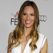 Hilary Swank Hair - Long Wavy Cut