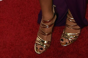 Naya Rivera Strappy Sandals