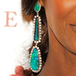 Iman Dangling Gemstone Earrings