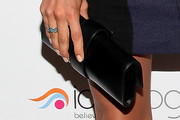 Irina Shayk Patent Leather Clutch