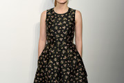 Jessica Chastain Print Dress