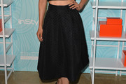 Aimee Garcia Knee Length Skirt