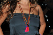 Jade Jagger Multi Beaded Necklace