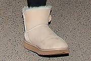 Jaden Smith Sheepskin Boots