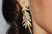 Jane Leeves Dangling Diamond Earrings