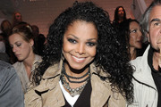 Janet Jackson Long Curls
