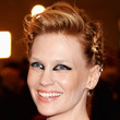 January Jones Hair - Braided Updo
