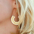 January Jones Jewelry - Gold Dangle Earrings