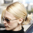 January Jones Hair - Medium Straight Cut with Bangs