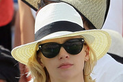 January Jones Panama Hat