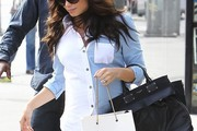 Jenna Dewan-Tatum Button Down Shirt
