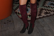 Jenna Dewan-Tatum Over the Knee Boots