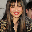 Jenna Ushkowitz Long Straight Cut with Bangs