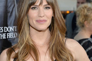 Jennifer Garner Long Wavy Cut with Bangs