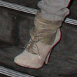 Jennifer Lopez Lace Up Boots