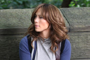Jennifer Lopez Long Curls with Bangs