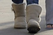 Jennifer Lopez Sheepskin Boots