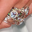 Jennifer Love Hewitt Gemstone Ring