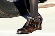 Jessica Alba Flat Oxfords