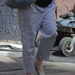 Jessica Biel Clothes - Harem Pants
