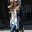 Jessica Biel Clothes - Utility Jacket