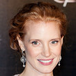 Jessica Chastain Hair - Bobby Pinned updo