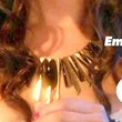 90210 Gold Statement Necklace