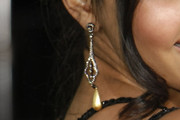 Jessica Lucas Dangling Crystal Earrings