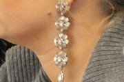 Jessica Simpson Diamond Chandelier Earrings