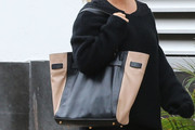 Jessica Simpson Leather Tote