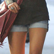 Jessica Szohr Clothes - Jean Shorts