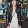 Jessica Szohr Clothes - Leather Jacket