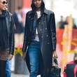 Jessica White Leather Coat