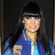Jessie J Long Straight Cut with Bangs