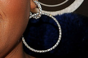 Jill Scott Diamond Hoops
