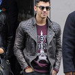 Joe Jonas Leather Jacket