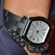 Joe Jonas Titanium Chronograph Watch