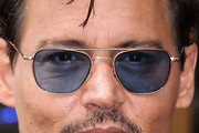 Johnny Depp Aviator Sunglasses