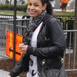 Jordin Sparks Clothes - Leather Jacket